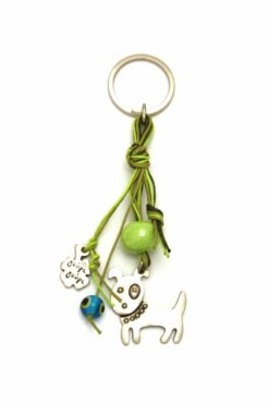 keyring with dog