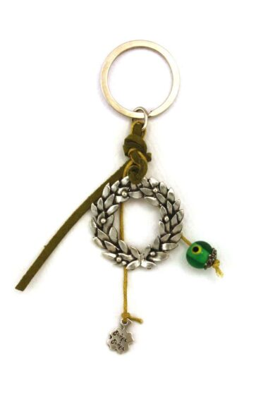 keyring with wreath