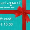 € 10.00 gift card