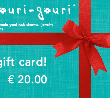 € 20.00 gift card