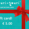 € 5.00 gift card