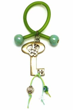 new home good luck charm with key