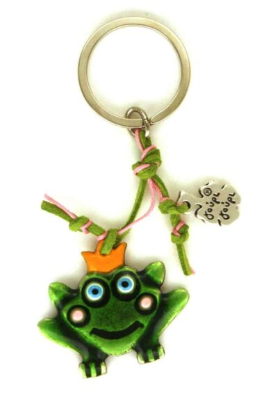 keyring with frog