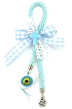 new baby gift for boys with heart & cross
