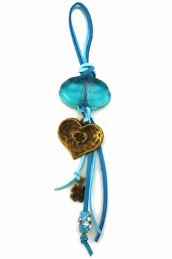summer lucky charm with heart