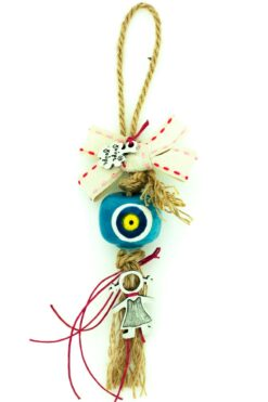 newborn lucky gift for girls with large evil eye