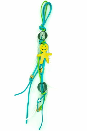 baby luck charm for boys with large beads