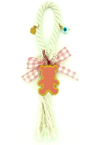 charm for baby girl with teddy bear