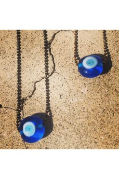 rearview mirror car charm with evil eye