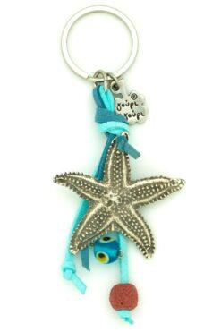 starfish keyring