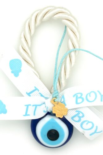small charm for newborn girls with evil eye