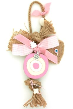 newborn baby girl gift with evil eye
