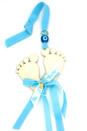 gift for newborn boys with baby feet