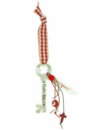 good luck charm for Christmas with key