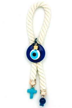 gift for good luck with evil eye and cross