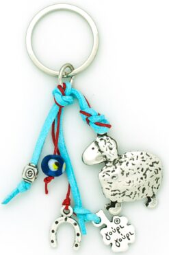 keychain with sheep