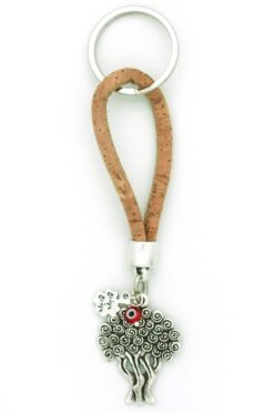 keyring with tree