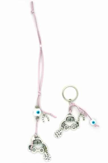 car charm and keyring set for girls