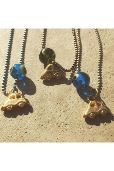 evil eye rear view mirror charms