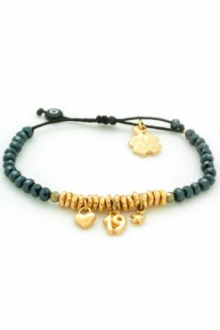 bracelet with '19, heart & star