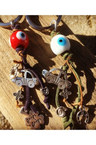 evil eye car keyrings