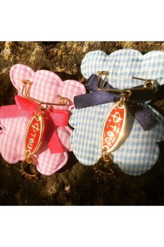 small new baby gifts with red 'ftou'