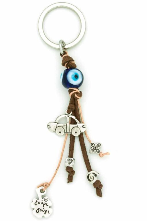 evil eye car keyring