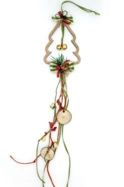 γούρι με Χριστουγεννιάτικο δέντρο
