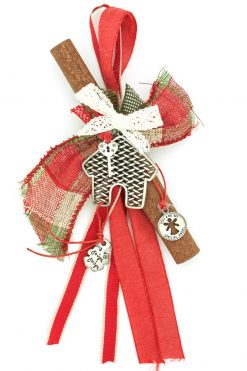 Christmas charm with cinnamon for home