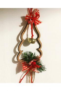 good luck charm with Christmas tree