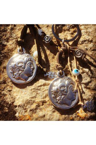 Alexander the Great keyrings