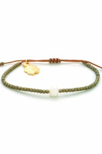 matte brown hematite bracelet