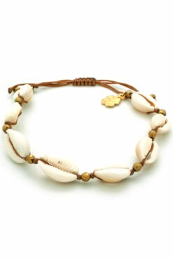 anklet / bracelet with shells