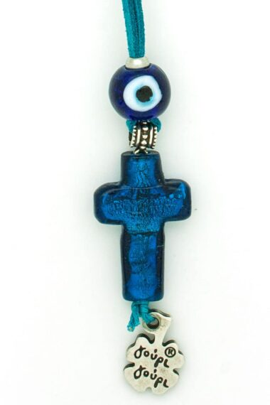 good luck charm for car with cross