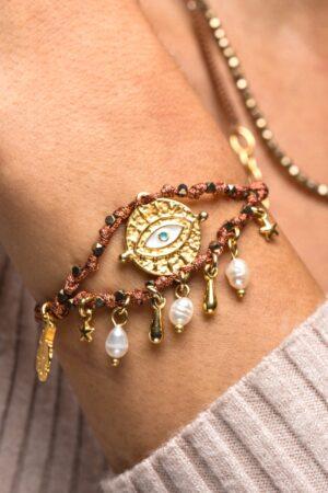 bracelet with evil eye
