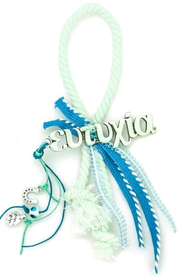 good luck charm gift for new baby boy with wish