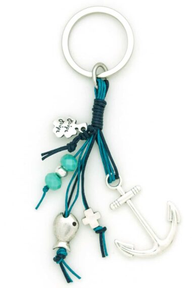 keychain with anchor