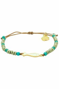white fish bracelet