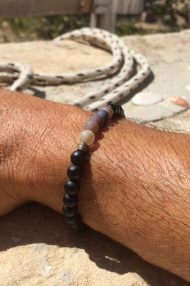 jasper stone bracelet for men