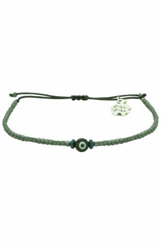 unisex evil eye hematite bracelet
