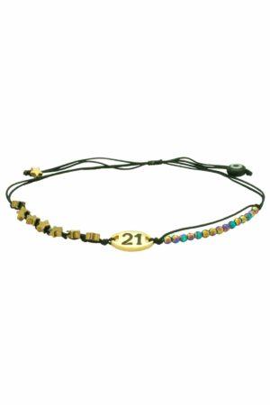 21 bracelet with stars