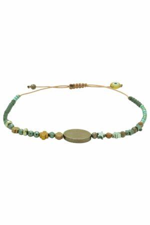 bracelet with crosses & stars