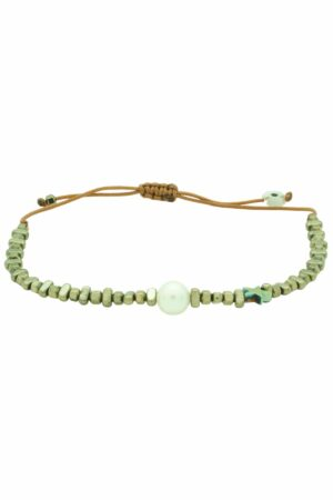 bracelet with pearl and star