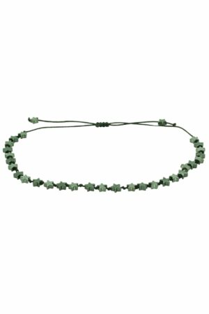 bracelet with grey stars