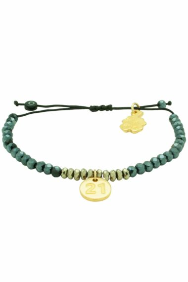 bracelet with golden 21