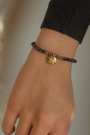 bracelet with golden 21