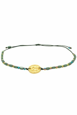 bracelet with gold-plated '21