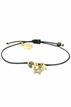 black minimal 21 bracelet