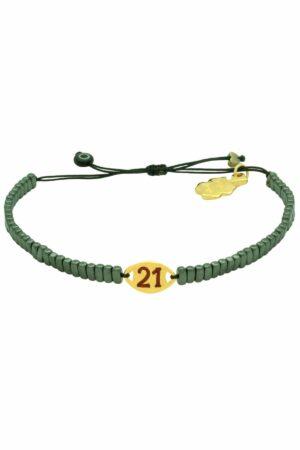 gunmetal green '21 bracelet