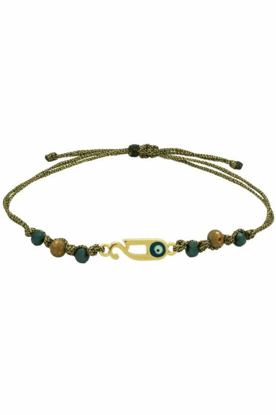 gold-plated '21 bracelet
